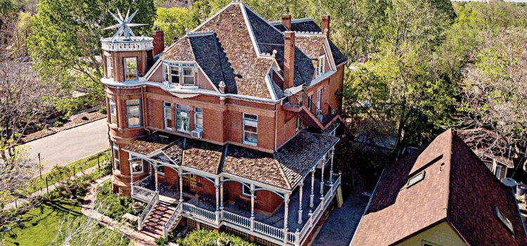Property Pros Inc premier roofing company in Denver helped roof the Lumber Baron Inn